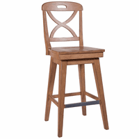 Waterfront Sand Finish Swivel Barstool