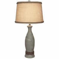 Waterfront Table Lamp with Rope Accents