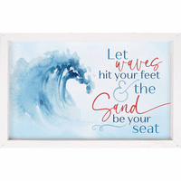 Waves at Your Feet Wall Décor