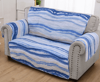Waves & Fish Loveseat Protector