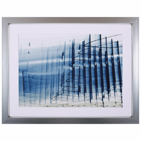 Waves IV Framed Art