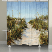 Waving Seagrass Shower Curtain