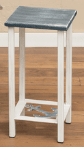 Weathered Anchor Accent Table