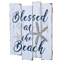 Weathered Beach Wood Wall Art