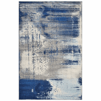Weathered Denim Rug Collection