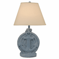 Wedgewood Blue Anchor Table Lamp