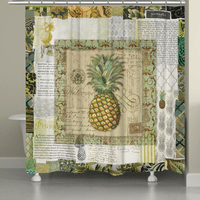Welcome Pineapple Shower Curtain