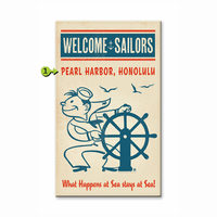 Welcome Sailors Personalized Signs
