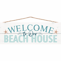 Welcome to Our Beach House II Wall Décor