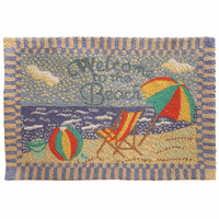 Welcome to the Beach Accent Rug