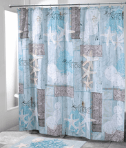 Welcome to the Shore Shower Curtain