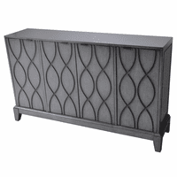 Westgate 4 Wave Pattern Door Sideboard