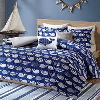Whale Love Coverlet Set - Twin/Twin XL