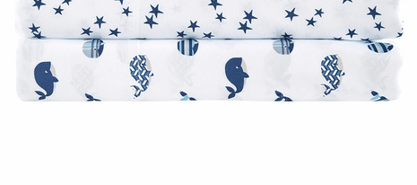 Whale Love Sheet Set - Full