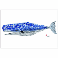 Whale Placemats - Set of 4