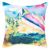 Whispers of the Ocean Shell Pillow