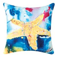 Whispers of the Ocean Starfish Pillow