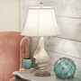 White Conch Shell Table Lamp