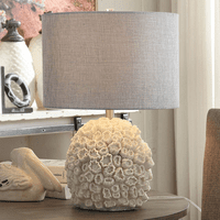 White Coral Reef Table Lamp - OVERSTOCK