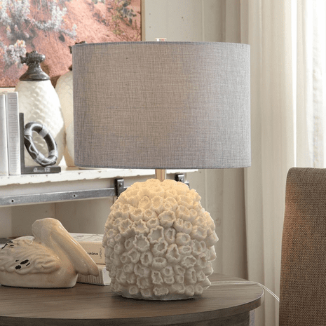 White Coral Reef Table Lamp