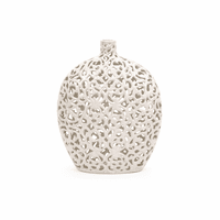 White Lace Vase - Small
