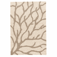 White Sea Coral Indoor/Outdoor Rug Collection