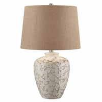 White Water Coral Table Lamp