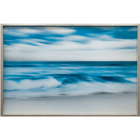 Wind & Surf Tempered Glass Wall Art