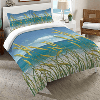 Windy Seagrass Comforter - Queen