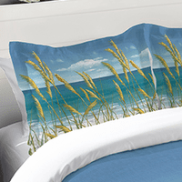 Windy Seagrass Standard Sham