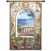 Wish You Were Here Medium Wall Tapestry