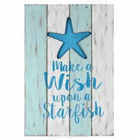 Wood Starfish Wall Art - CLEARANCE