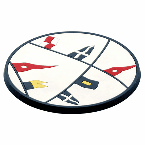 Yacht Club Drink Coasters - Set of 6
