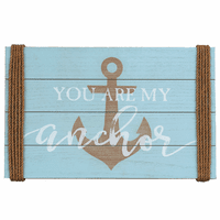 You Are My Anchor Wood Wall Art