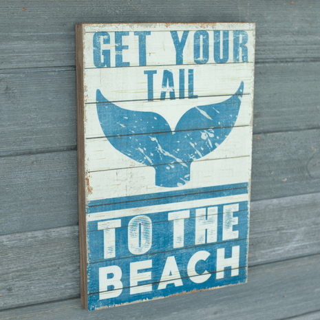 Your Tail Wood Sign
