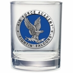 Air Force Academy Falcons Blue Pewter Accent DOF Glasses, Set of 2