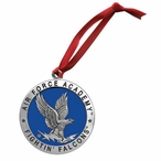 Air Force Academy Falcons Blue Pewter Accent Ornaments, Set of 2