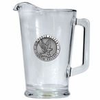 Air Force Academy Falcons Glass Pitcher with Pewter Accent