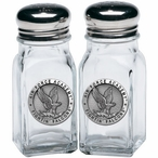 Air Force Academy Falcons Pewter Accent Salt & Pepper Shakers