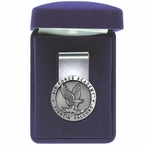 Air Force Academy Falcons Pewter Accent Steel Money Clip