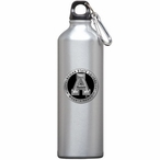 Appalachian State Black Pewter Accent Stainless Steel Water Bottle