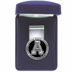 Appalachian State Mountaineers Black Pewter Accent Steel Money Clip