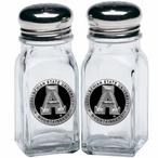 Appalachian State Mountaineers Black Pewter Salt & Pepper Shakers