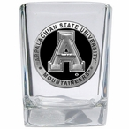 Appalachian State Mountaineers Black Pewter Shot Glasses, Set of 4