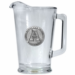 Appalachian State Mountaineers Glass Pitcher with Pewter Accent