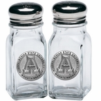 Appalachian State Mountaineers Pewter Accent Salt & Pepper Shakers