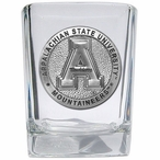 Appalachian State Mountaineers Pewter Accent Shot Glasses, Set of 4