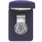Appalachian State Mountaineers Pewter Accent Steel Money Clip