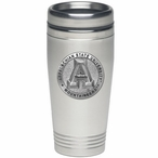 Appalachian State Mountaineers Stainless Steel Travel Mug with Pewter