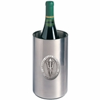Arizona State Pitchfork Pewter Stainless Steel Wine Bottle Chiller